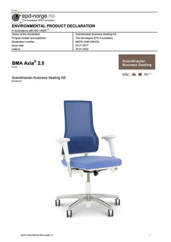 Nepd 1246 399 bma axia 2 5 by Bma Ergonomics bv - issuu