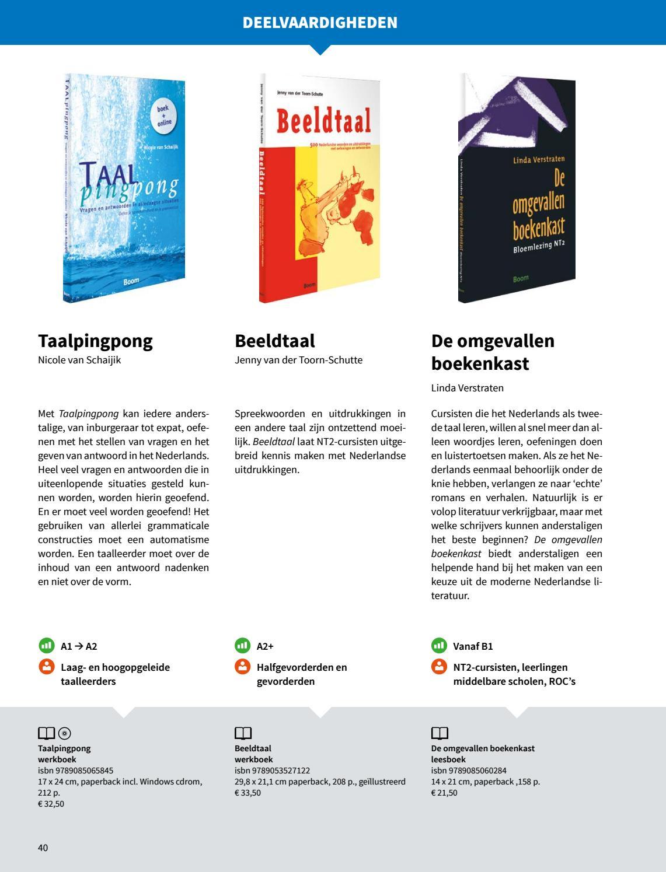 Boom NT2 catalogus 2017 digitaal by Boom uitgevers Amsterdam - issuu