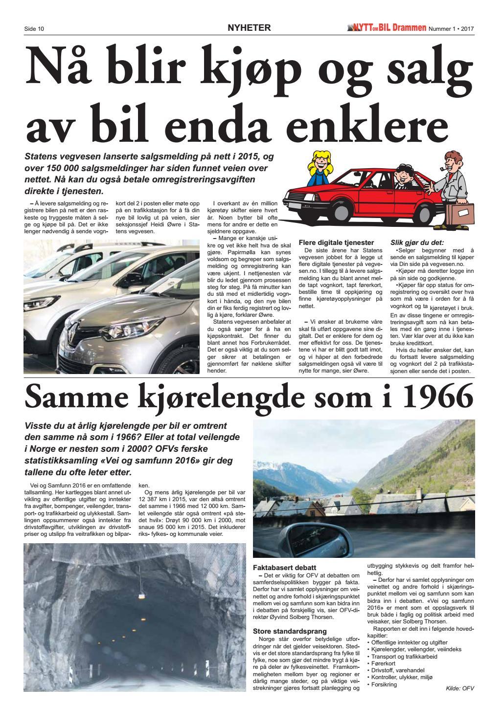 057075e0 Nytt om Bil Drammen nr 01 2017 by Nytt om Bil - issuu