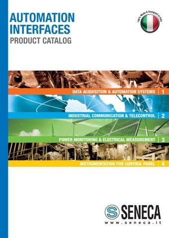 Product Catalog 2017 by SENECA - Automation Interfaces - issuu