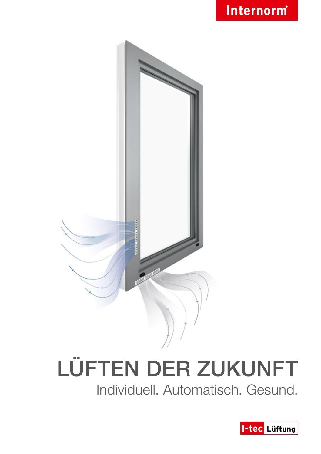 internorm folder i tec l ftung im fenster integrierte l ftung by internorm windows doors issuu. Black Bedroom Furniture Sets. Home Design Ideas