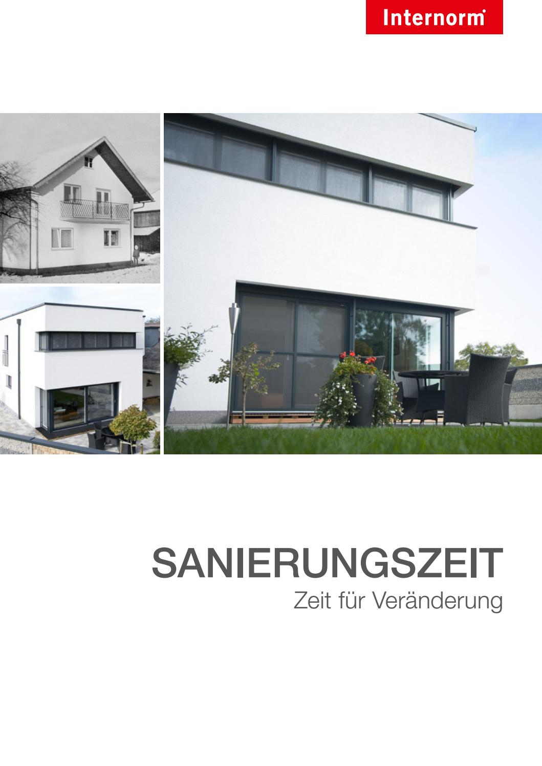 Internorm Folder Sanierung: schnell und problemlos Fenster tauschen ...