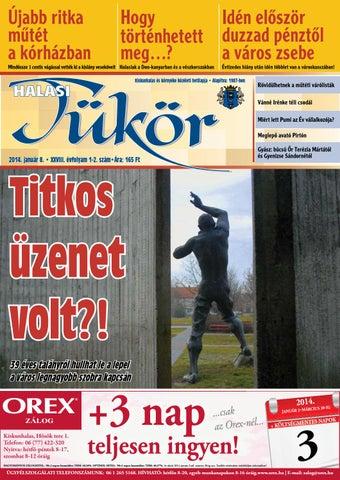 XXVIII. évf. 1-2. szám 2014. január 8. by Halasi Tükör - issuu 418c2d15a1