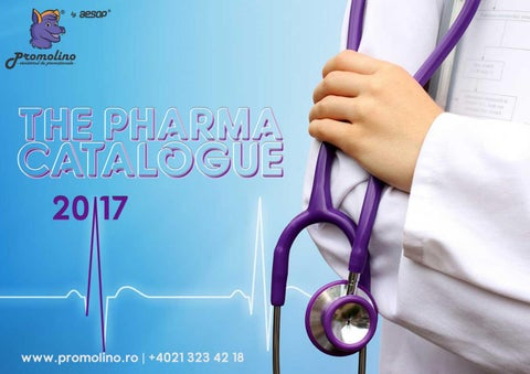 The Pharma Catalogue 2017 by Promolino by Aesop Worldwide