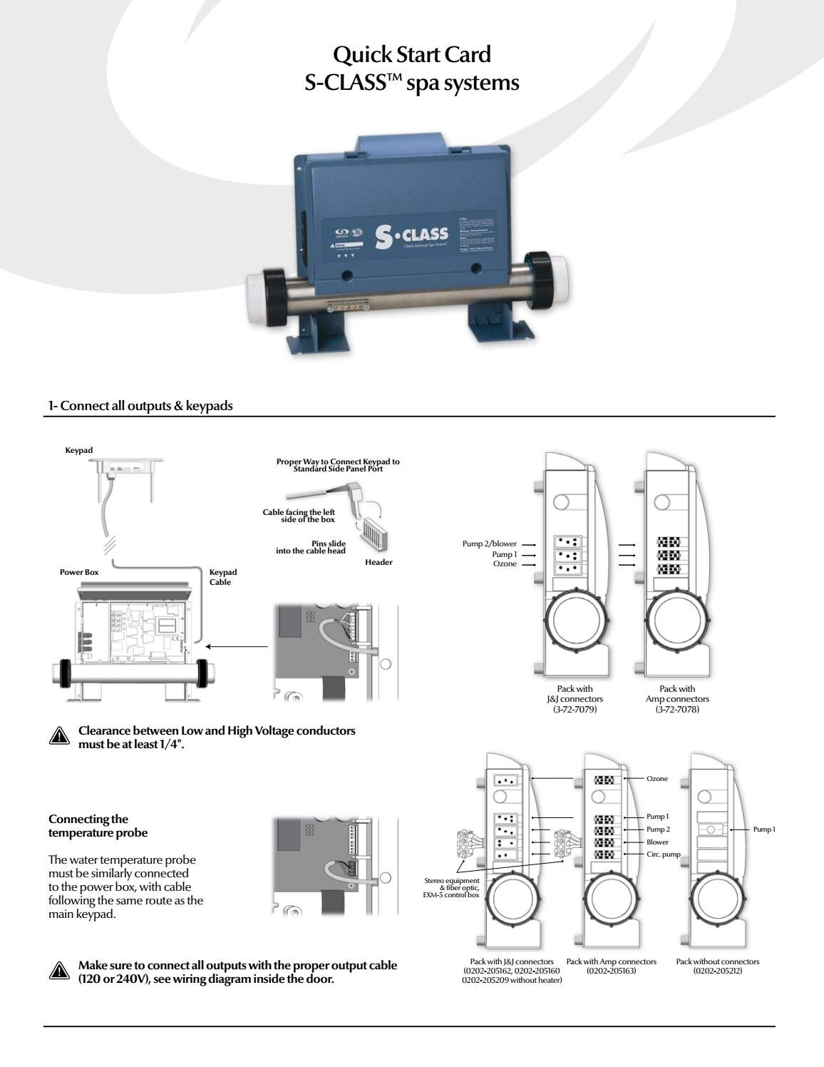 S Class Control System Quick Start Card By Gecko Marketing Issuu High Voltage Wiring Diagram