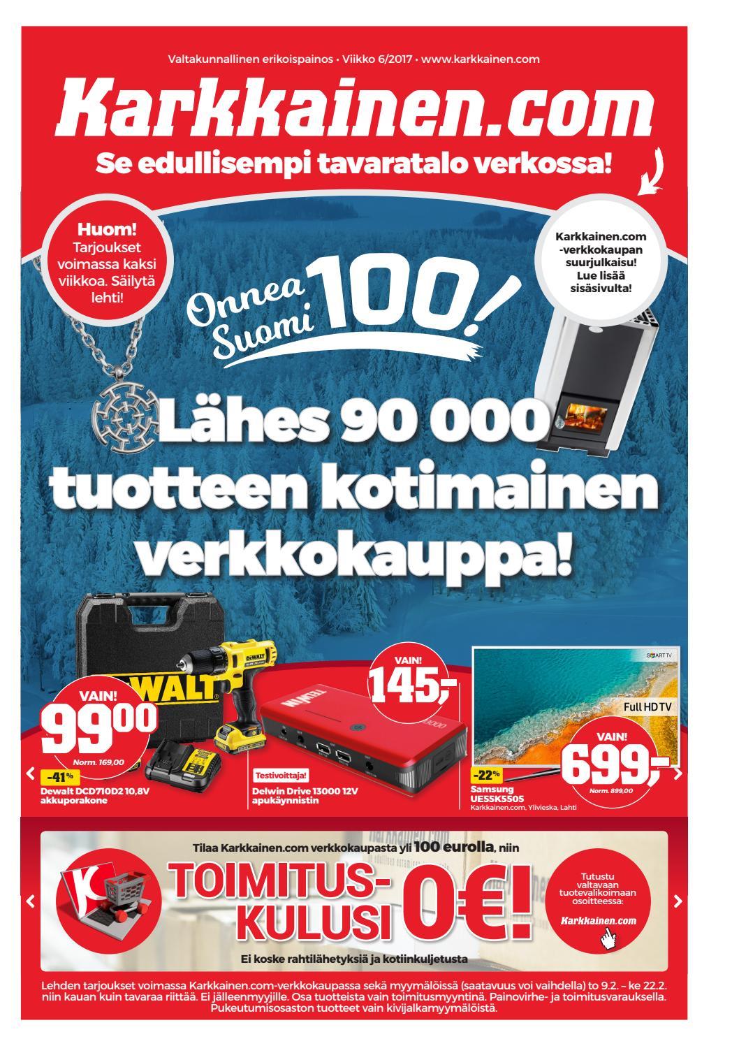 Kärkkäisen mainos (6 2017) (valtakunnallinen) by Tavaratalo J. Kärkkäinen  Oy - issuu 8fde853d9c