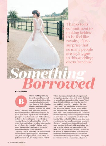 Thanks To Its Commitment Making Bridesto Be Feel Like Royalty It S No Surprise That So Many People Are Saying Yes This Weddingdress Franchise