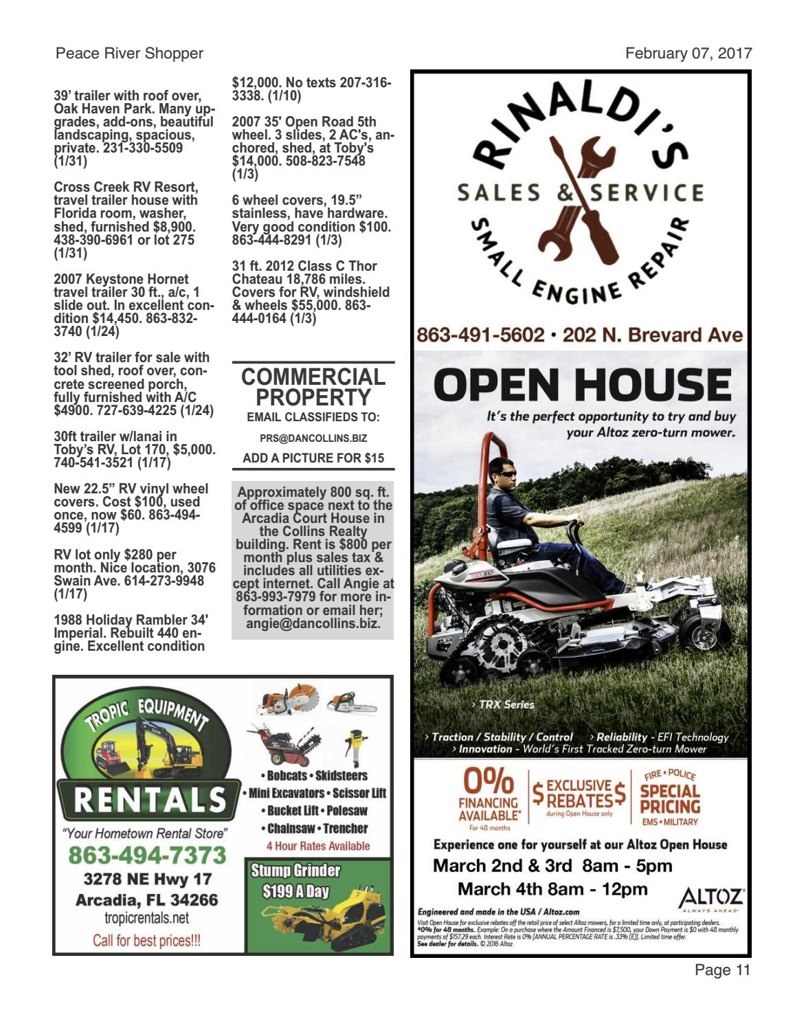 February 07, 2017 Peace River Shopper by Peace River Shopper