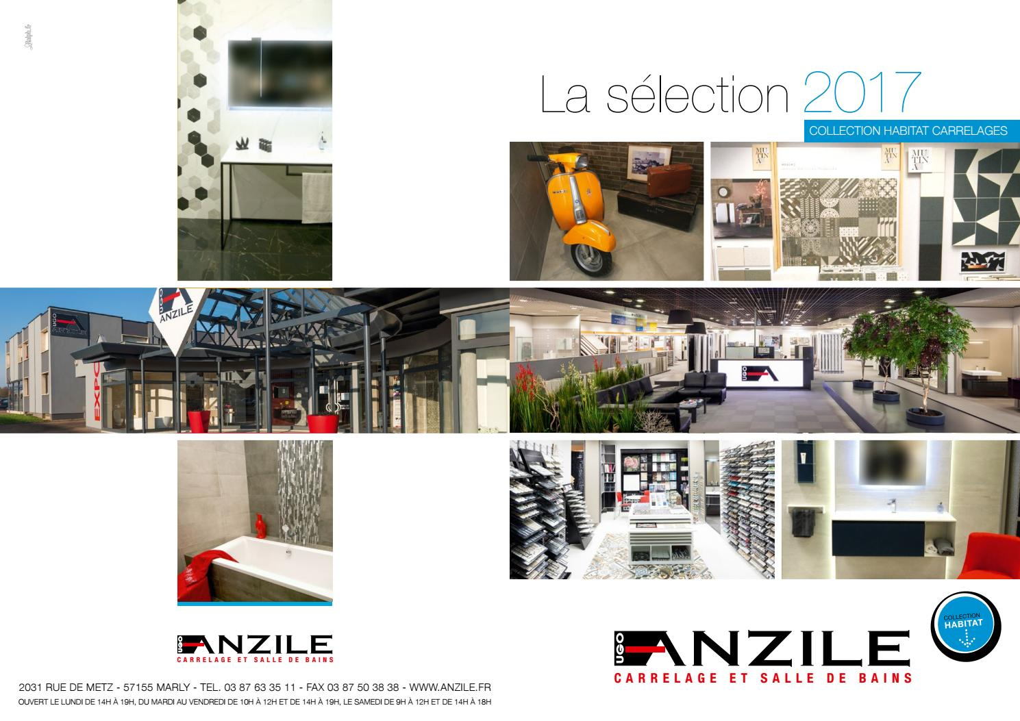 Catalogue habitat 2017 anzile carrelage by nemeth issuu for Anzile carrelage