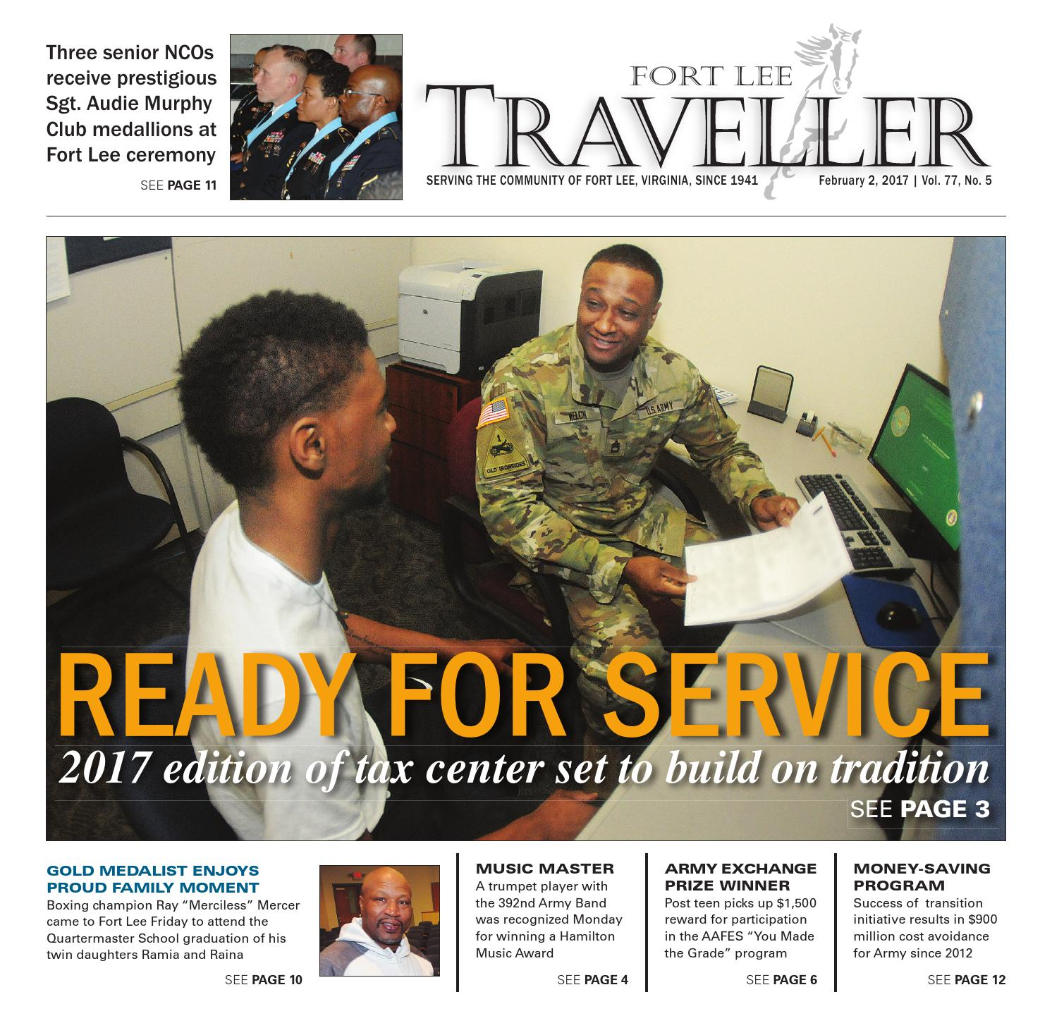 GroB Fort Lee Traveller 02.02.17 By Military News Issuu