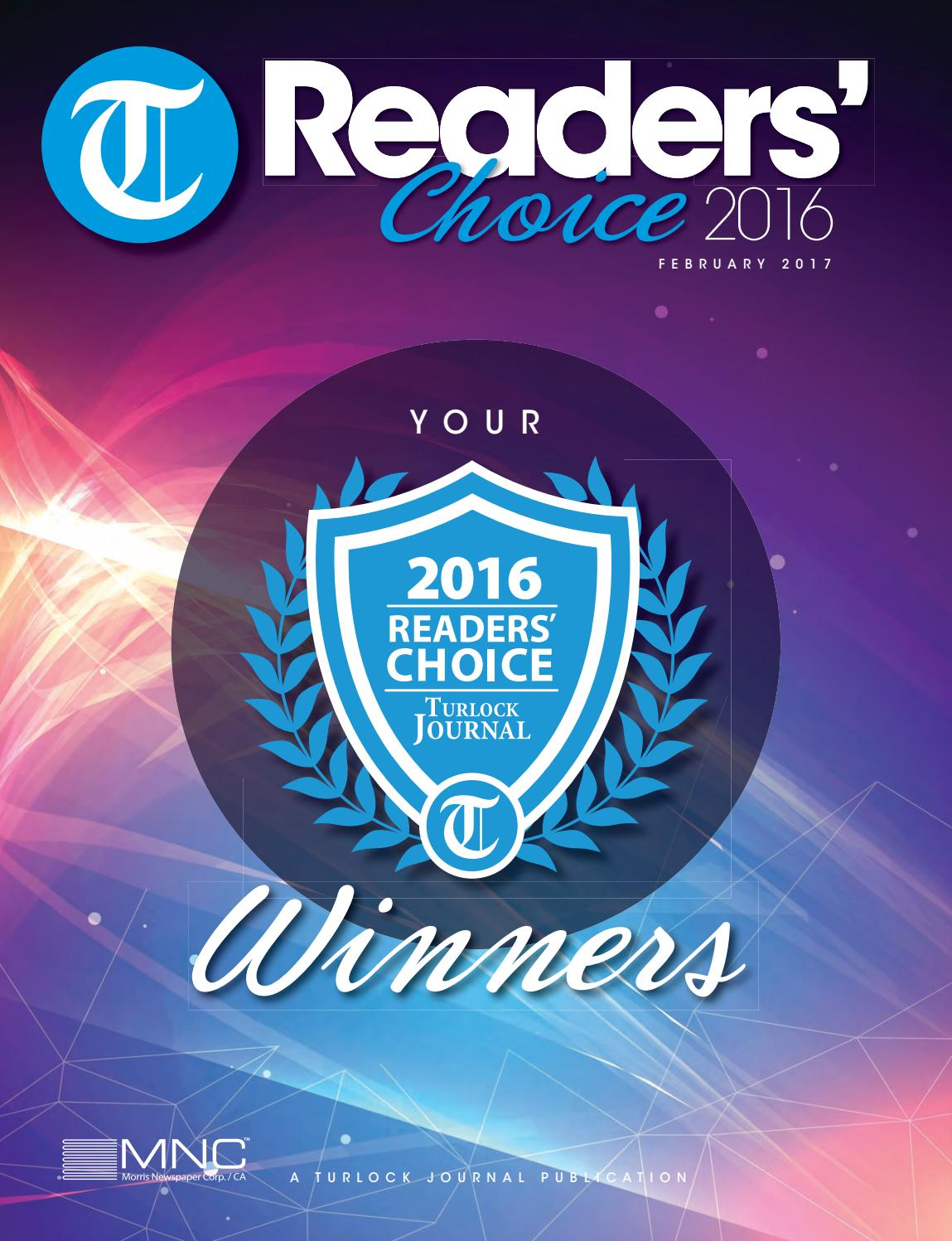 Tj Readers Choice 2016 By Mnc