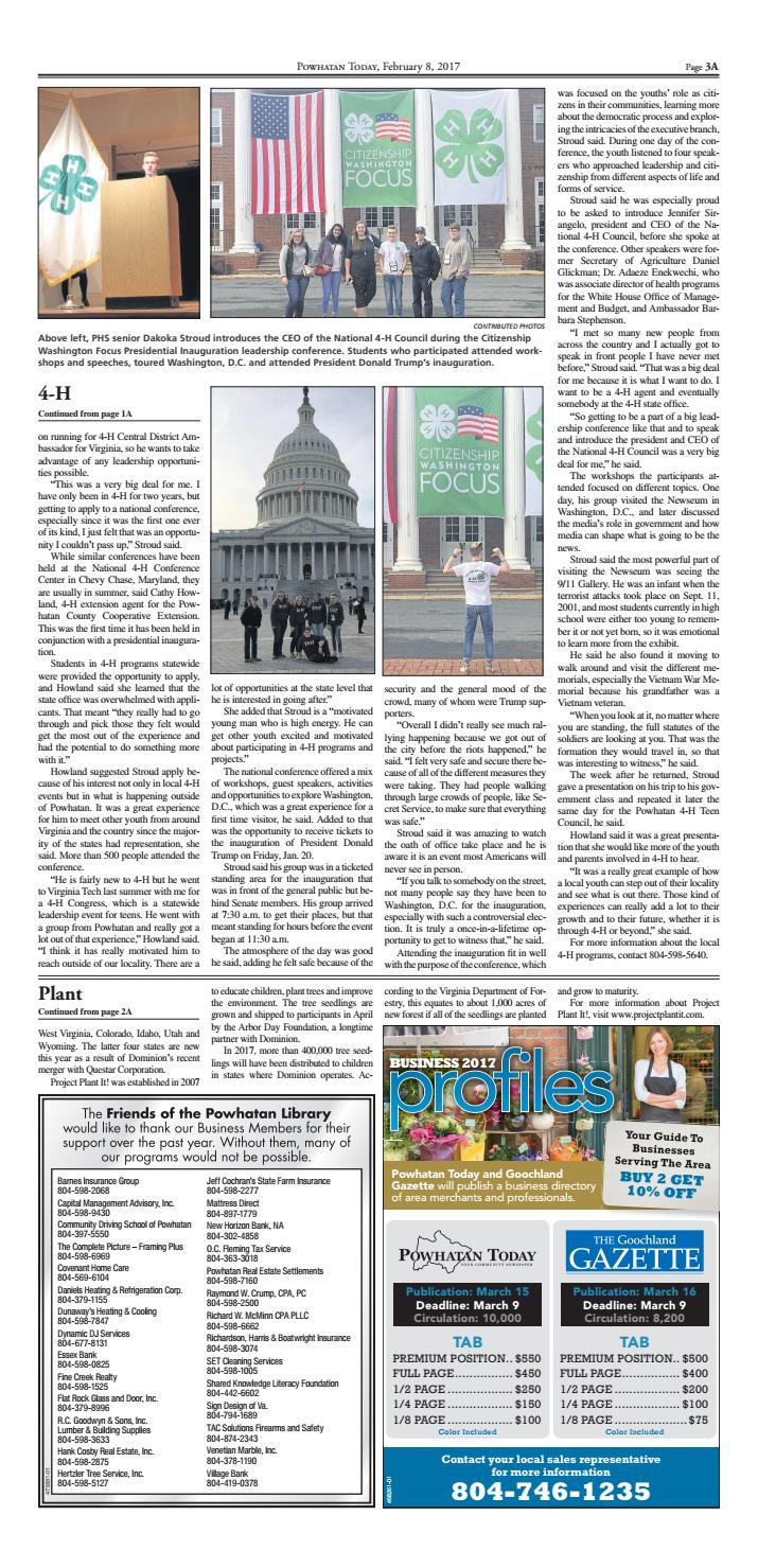 02 08 2017 By Powhatan Today Issuu