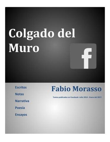 5d72b18893 Colgado del muro by Sí-Mismo Editores - issuu