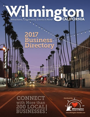 Wilmington, CA 2017 Business Directory by Atlantic West Publishers