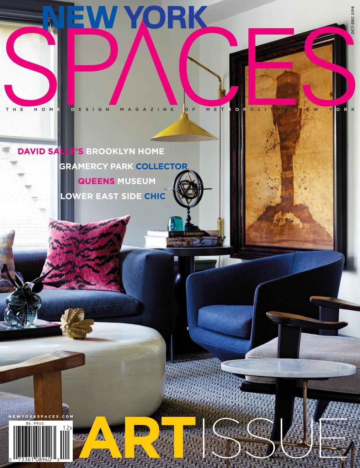 Meridienne Moderne Pour Salon new york spaces october-december 2016davler media - issuu