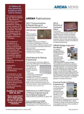 rt s february 2017 by railway track structures issuu rh issuu com 2000 arema communications & signals manual 2000 arema communications & signals manual