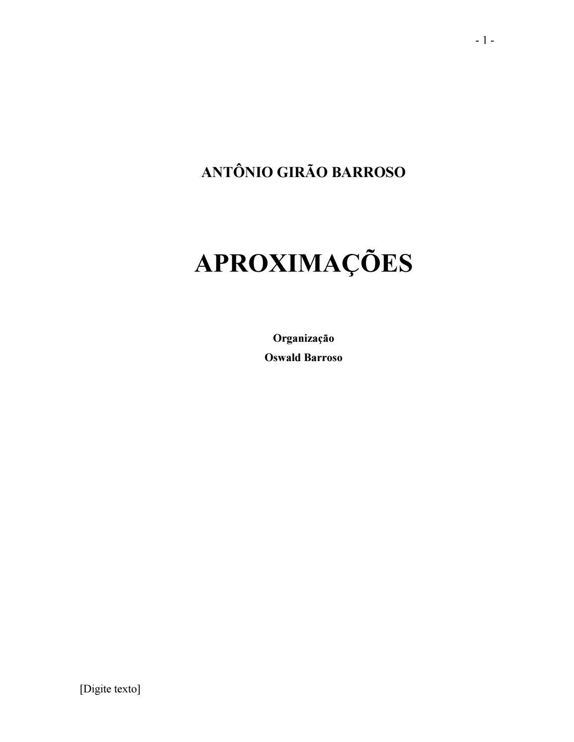 Aproximacoes Versao Texto By Myreika Falcao Issuu