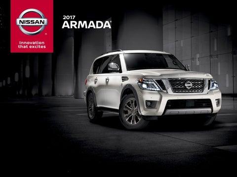 2017 Nissan Armada Configurations >> 2017 Nissan Armada Digital Brochure By Kit Smith Issuu