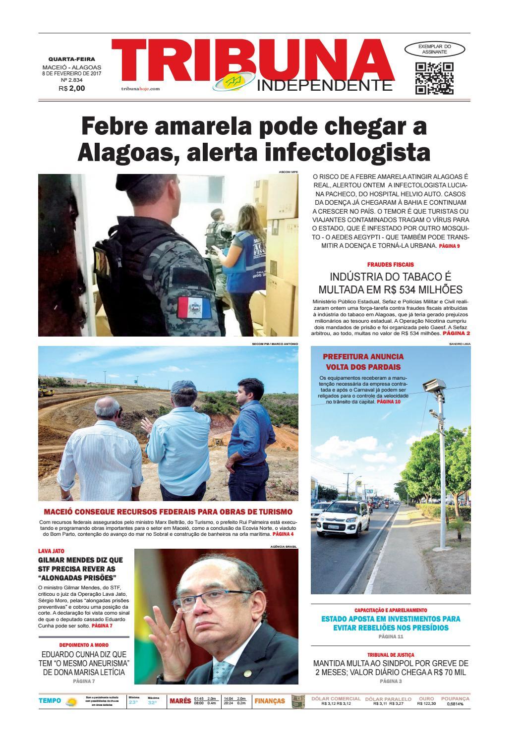 a8ce3fab17657 Edição número 2834 - 8 de fevereiro de 2017 by Tribuna Hoje - issuu