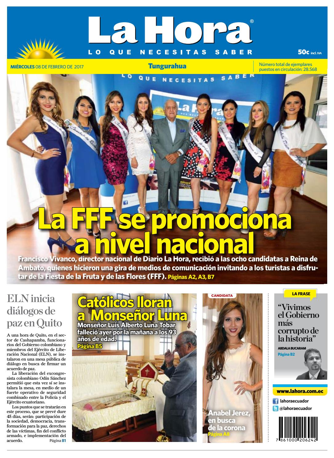 Ambato08febrero2017 by Diario La Hora Ecuador - issuu