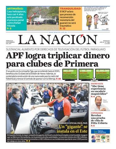 4f63d5975 DIARIO LA NACIÓN - EDICIÓN 7.889 by La Nación - issuu