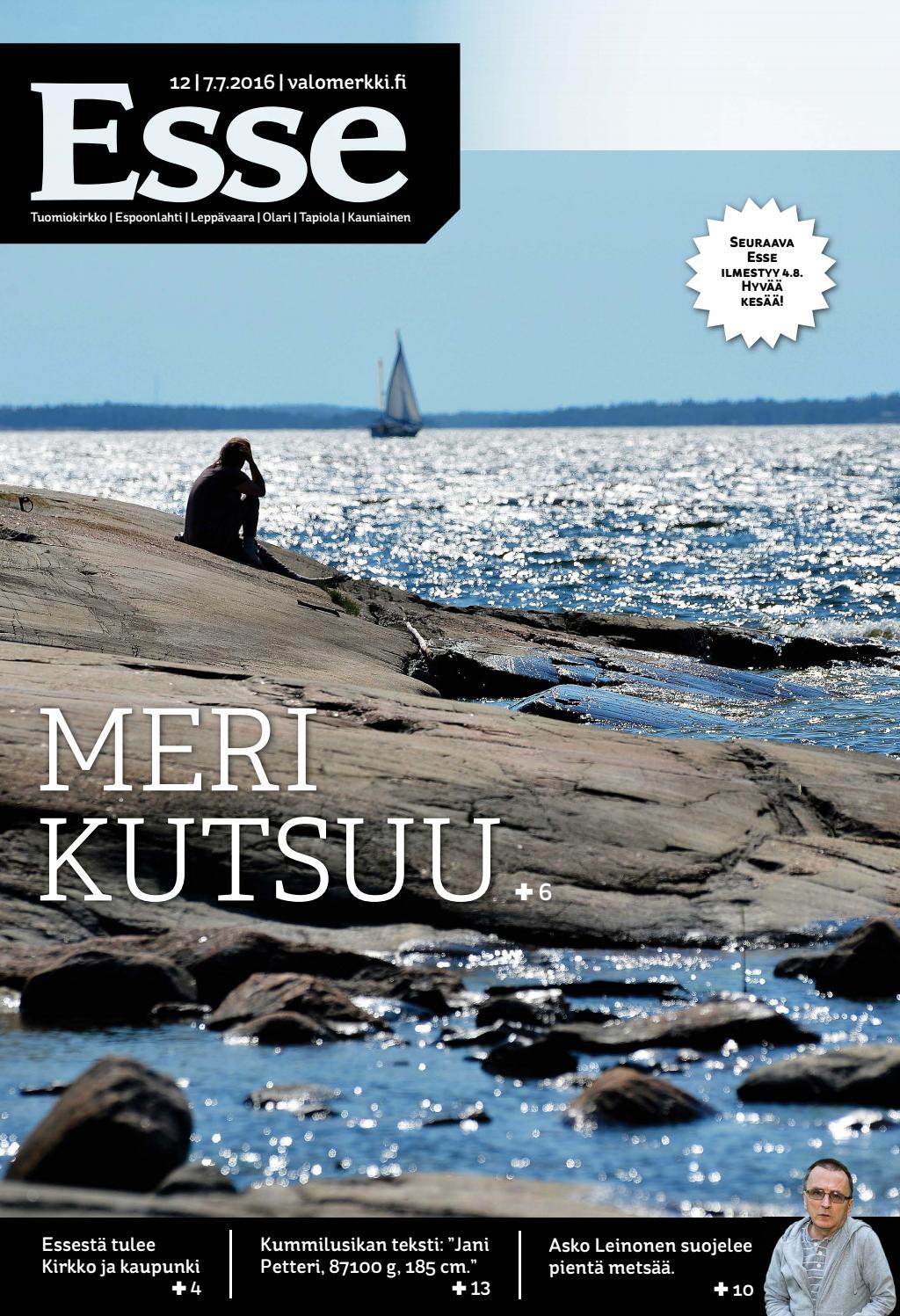 Esse 2016 nro 12 (7 7) by Kirkko ja kaupunki - issuu