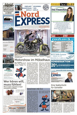 Nord Express Segeberg By Nordexpress Onlinede Issuu