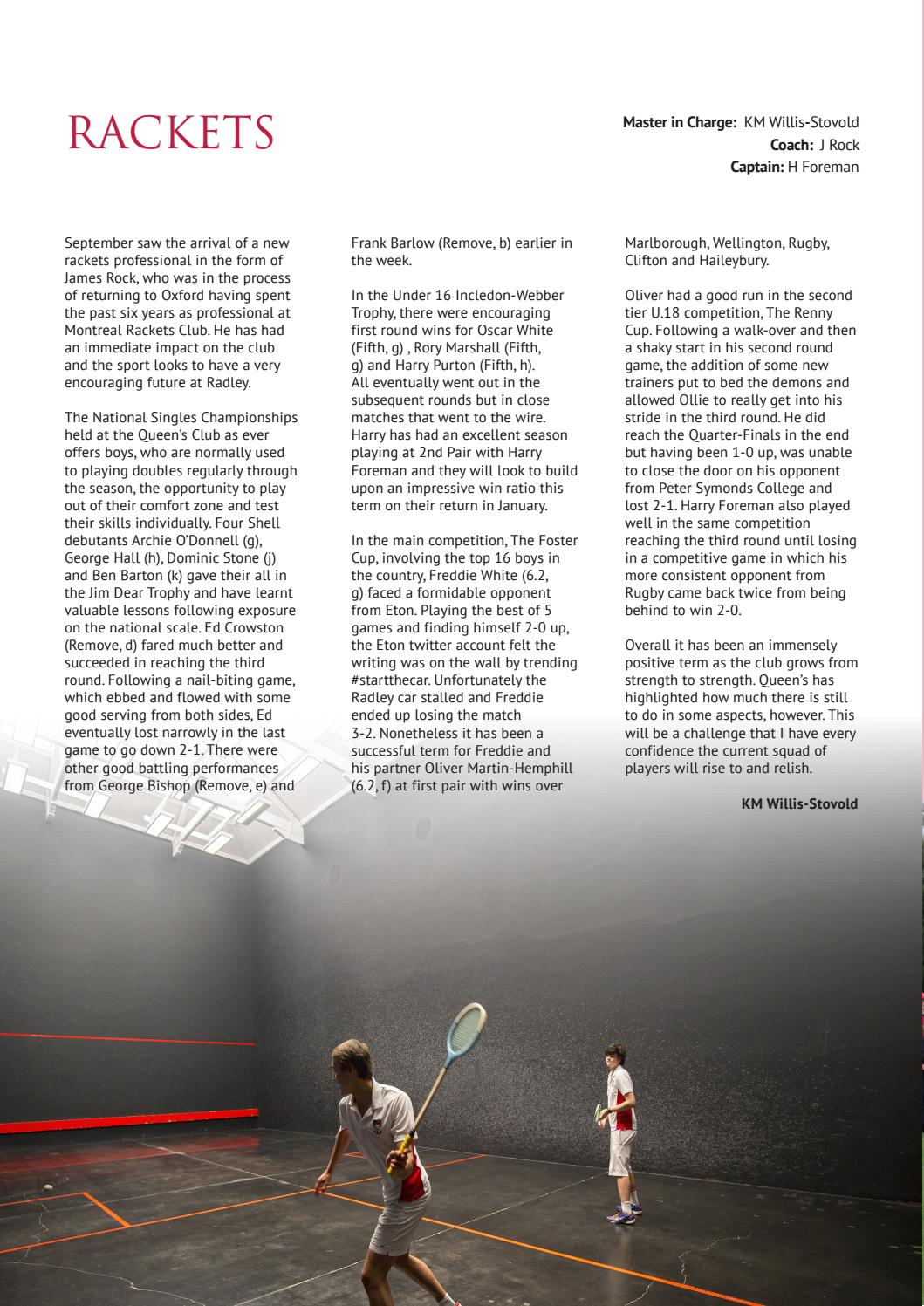 Sportssupplement005 by Radley College - issuu