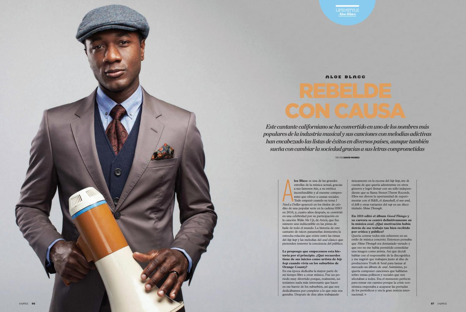 Aloe Blacc By David Moreu Issuu