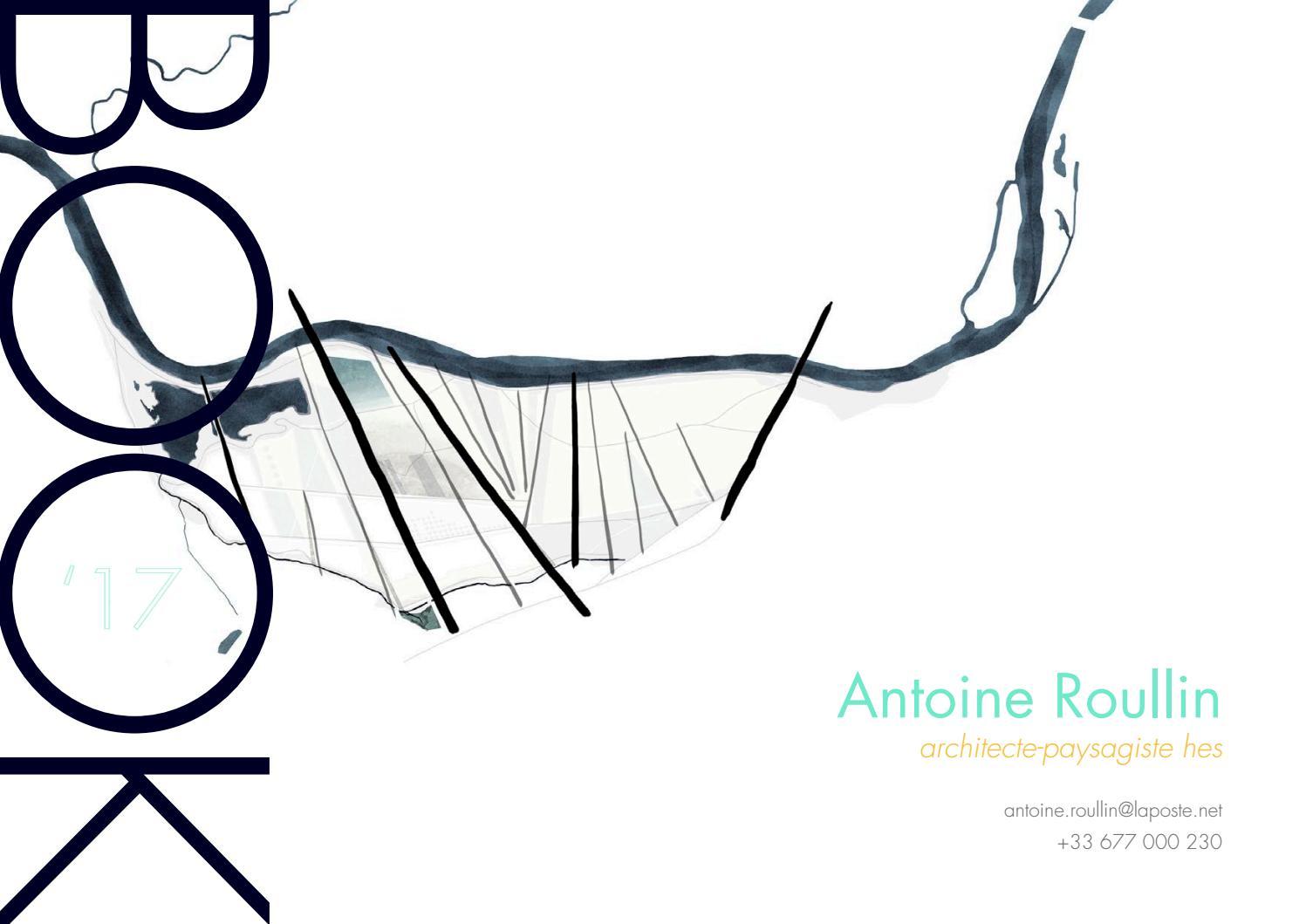 antoine roullin architecte-paysagiste - book 2017antoine roullin