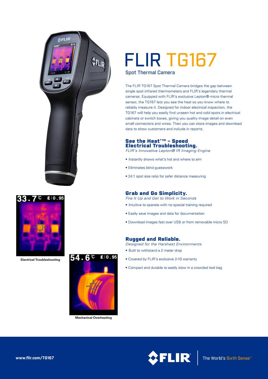 Termovisor Flir TG167 é na Tecnoferramentas! by