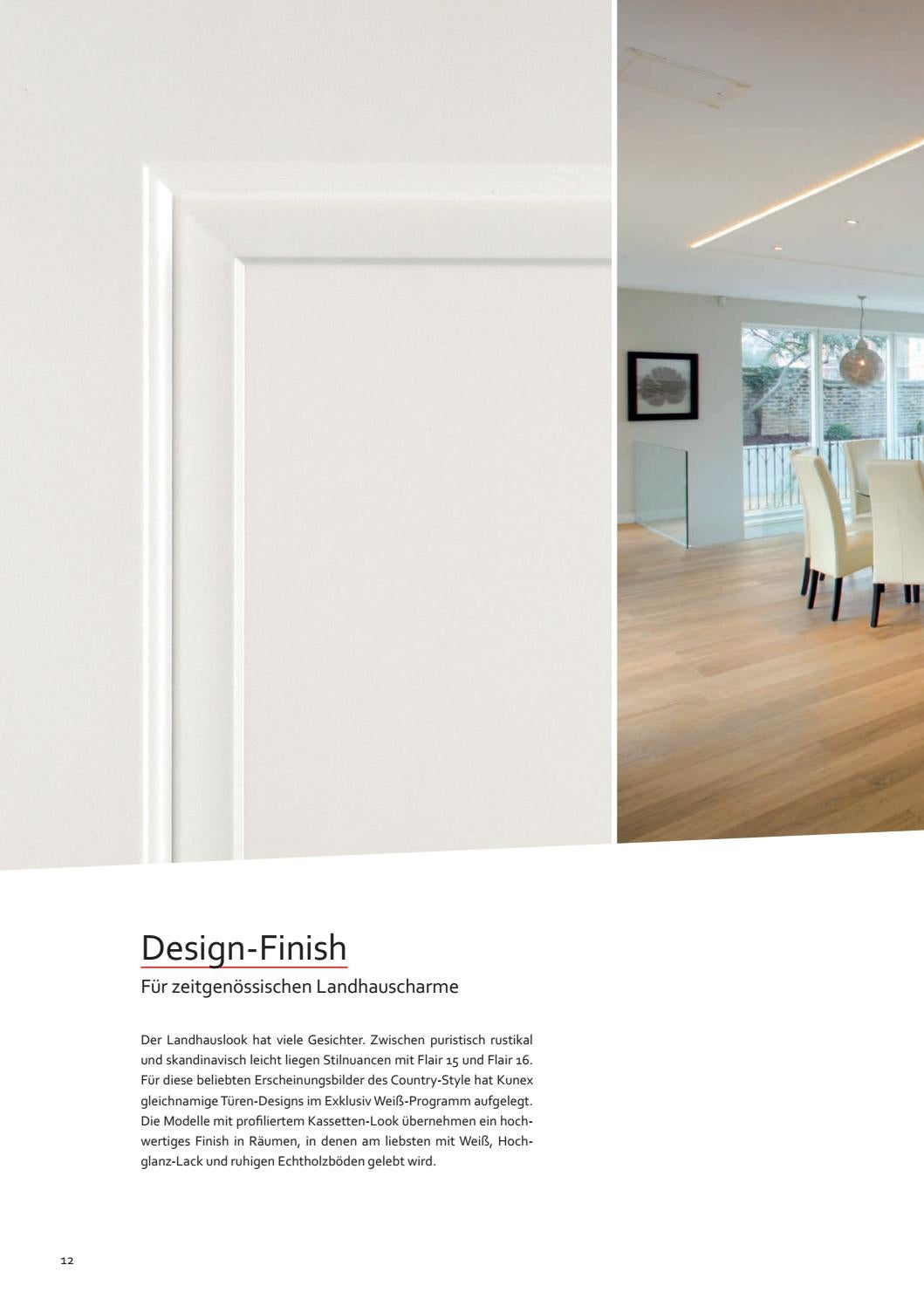 Kunex tueren weiss by Kaiser Design - issuu