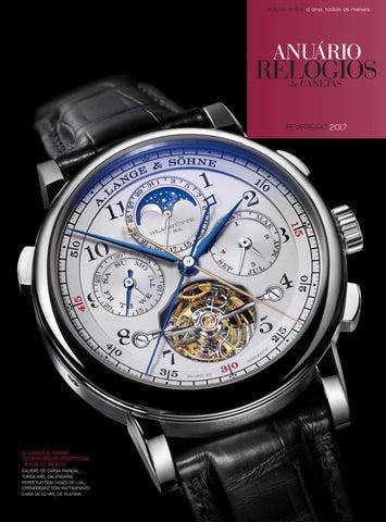 b75bbd86f44 Anuário Relógios   Canetas - Fevereiro 2017 by Anuário Relógios ...