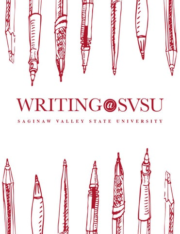 Writingsvsu 2016 by saginaw valley state university issuu page 1 fandeluxe Image collections
