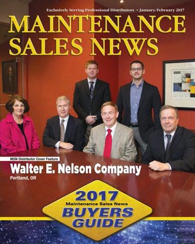 Jan/Feb 2017 Maintenance Sales News