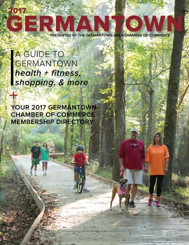 Germantown Magazine 2017 By Germantown Area Chamber Of
