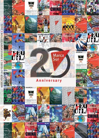 huge discount e386d a6f8b Marcasur 20th Anniversary Edition by Marcasur - issuu