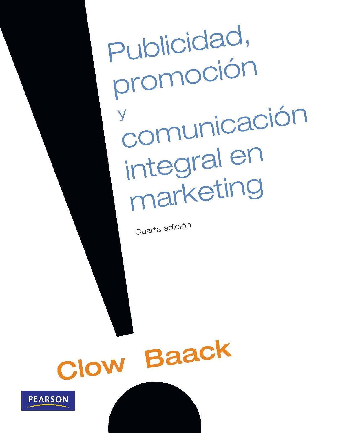 Publicidad promoción y comunicación integrada de marketing kenneth e ...