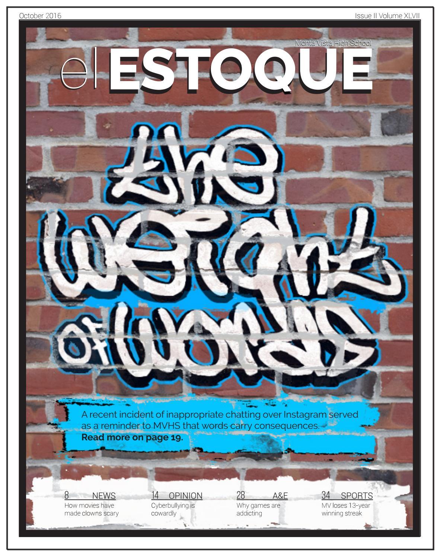8d8063eb8a Volume 47, Issue 2, Oct. 21, 2016 by El Estoque - issuu