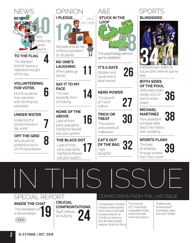 Volume 47, Issue 2, Oct  21, 2016 by El Estoque - issuu