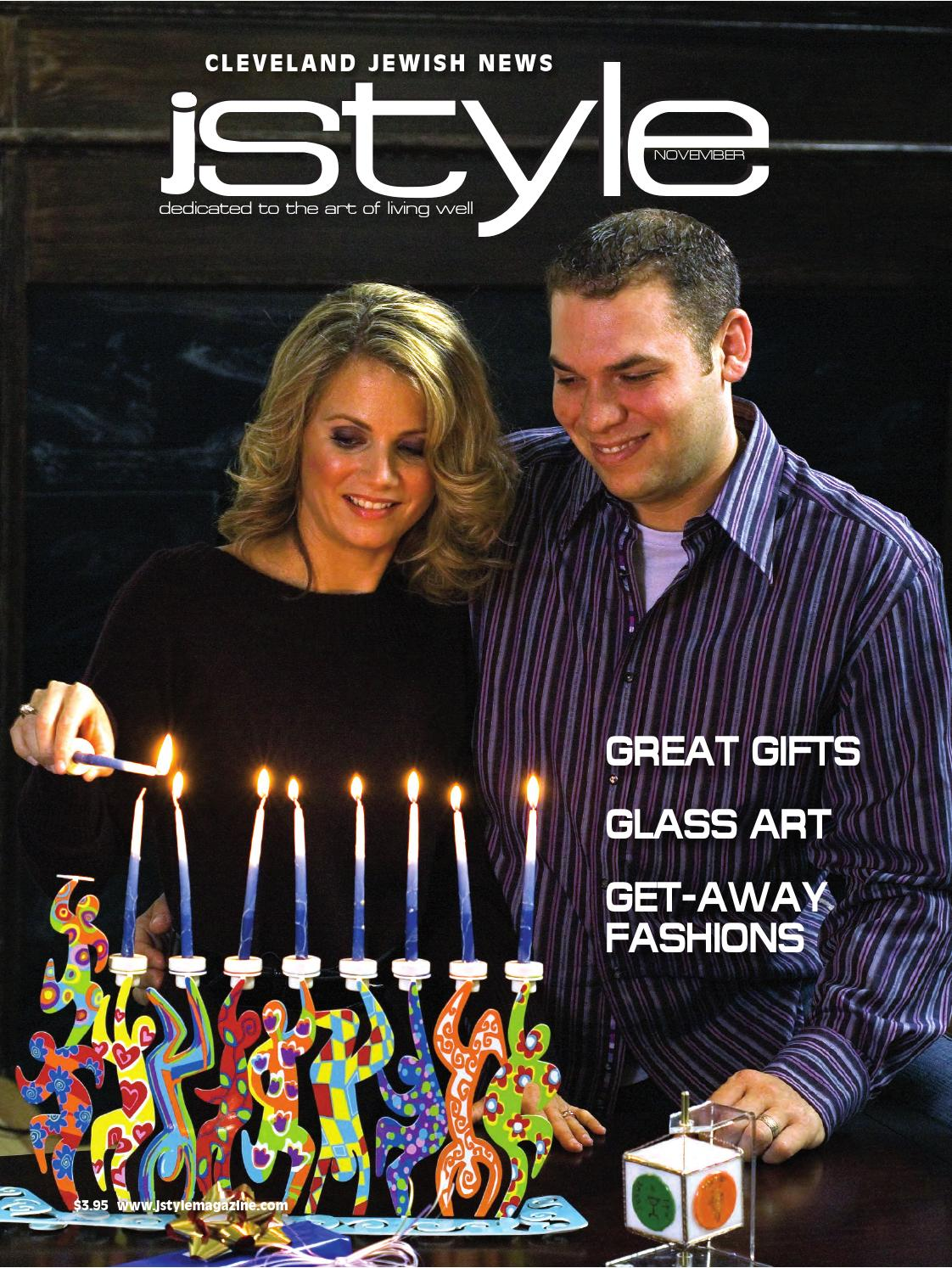Jstyle November 2007 By Cleveland Jewish Publication Company Issuu Thread Realistic Electric Flickering Pillar Candles