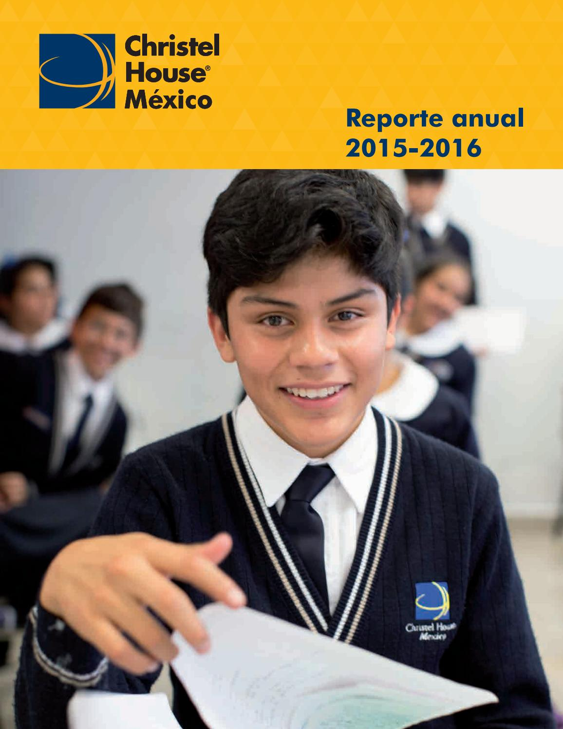 Informe Anual 2015.2016 by Christel House - issuu Felipe Esparza