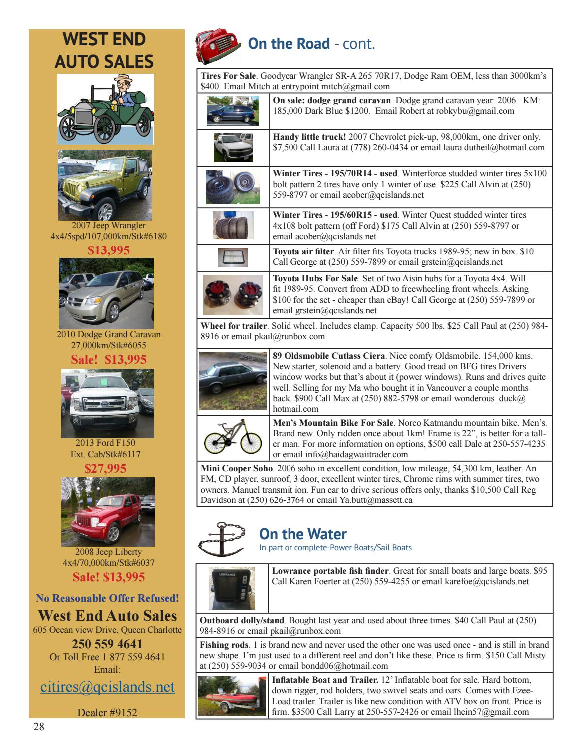 Hg Trader Magazine Issue 80 February 2017 By Haida Gwaii Issuu 2006 Ford F 150 Iwe Solenoid