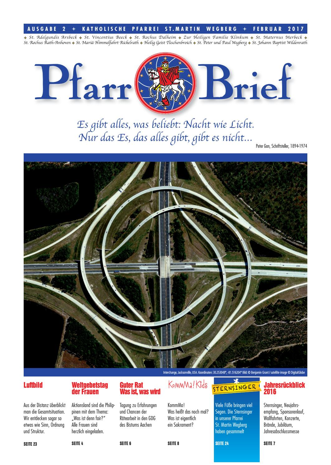 Pfarrbrief St. Martin Wegberg Februar 2017 by Michael Körner - issuu