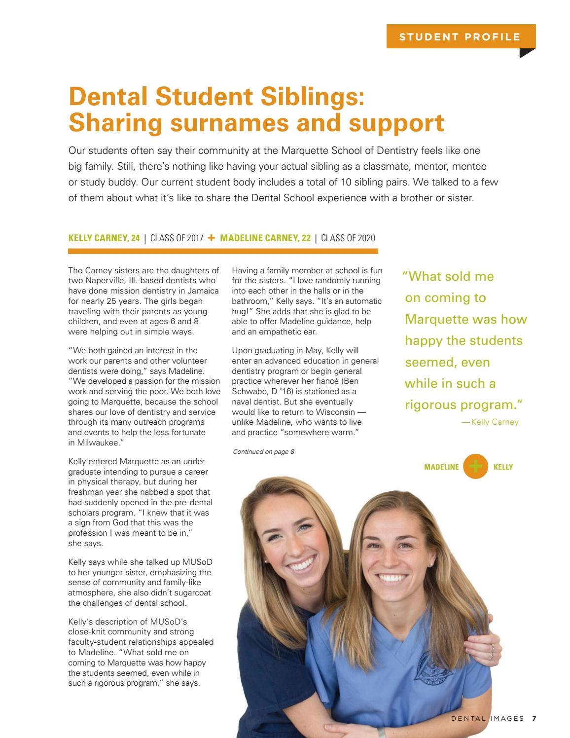 Dental Images Winter 2017 by Marquette University - issuu