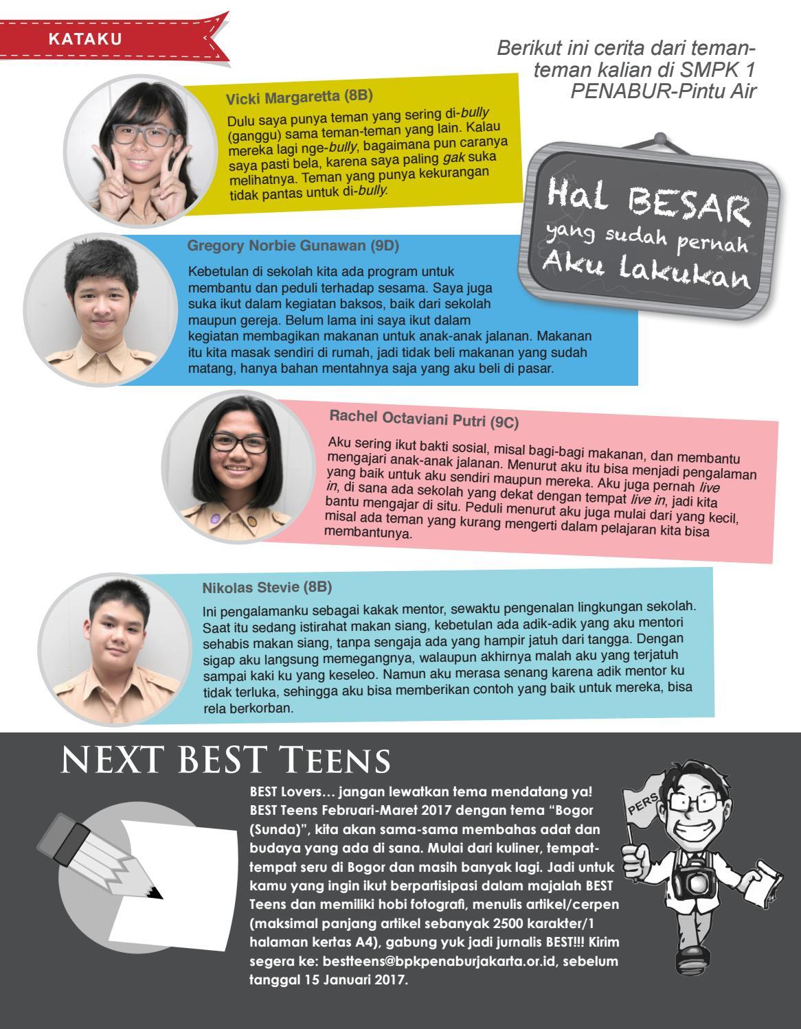 Best Teens Des 2016 Jan 2017 By Bpk Penabur Jakarta Issuu