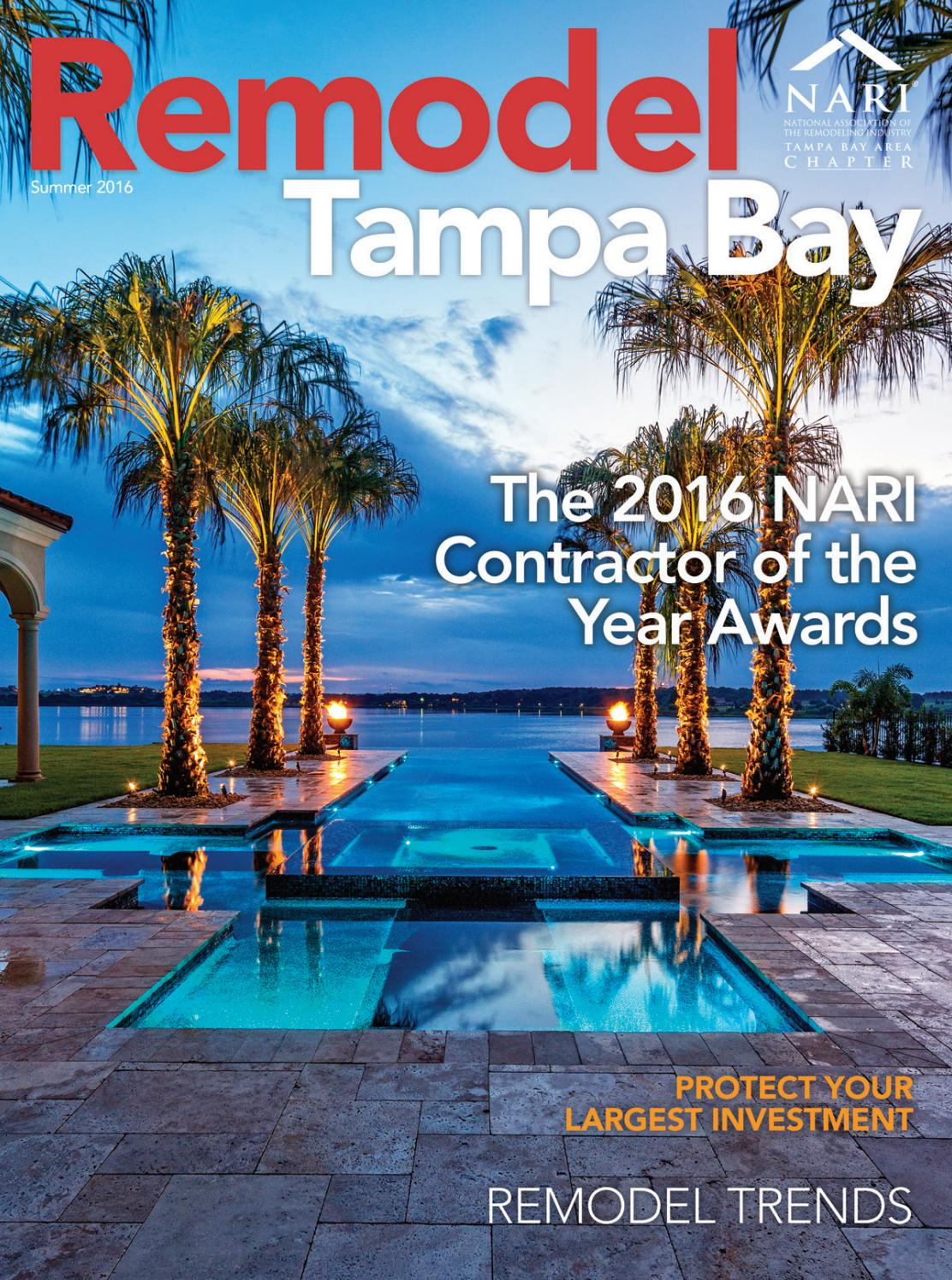 Remodel Tampa Bay Summer Issue 2016