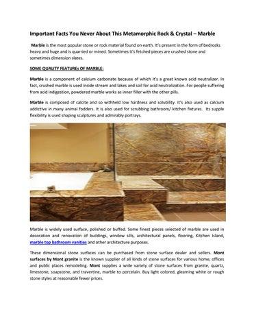 Marble Top Bathroom Vanities- www montgranite com by Mont Granite