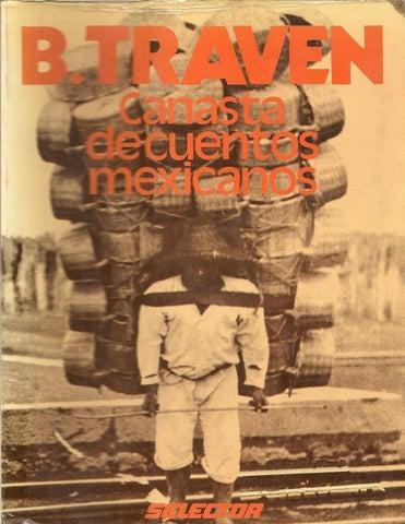 canasta de cuentos mexicanos de bruno traven