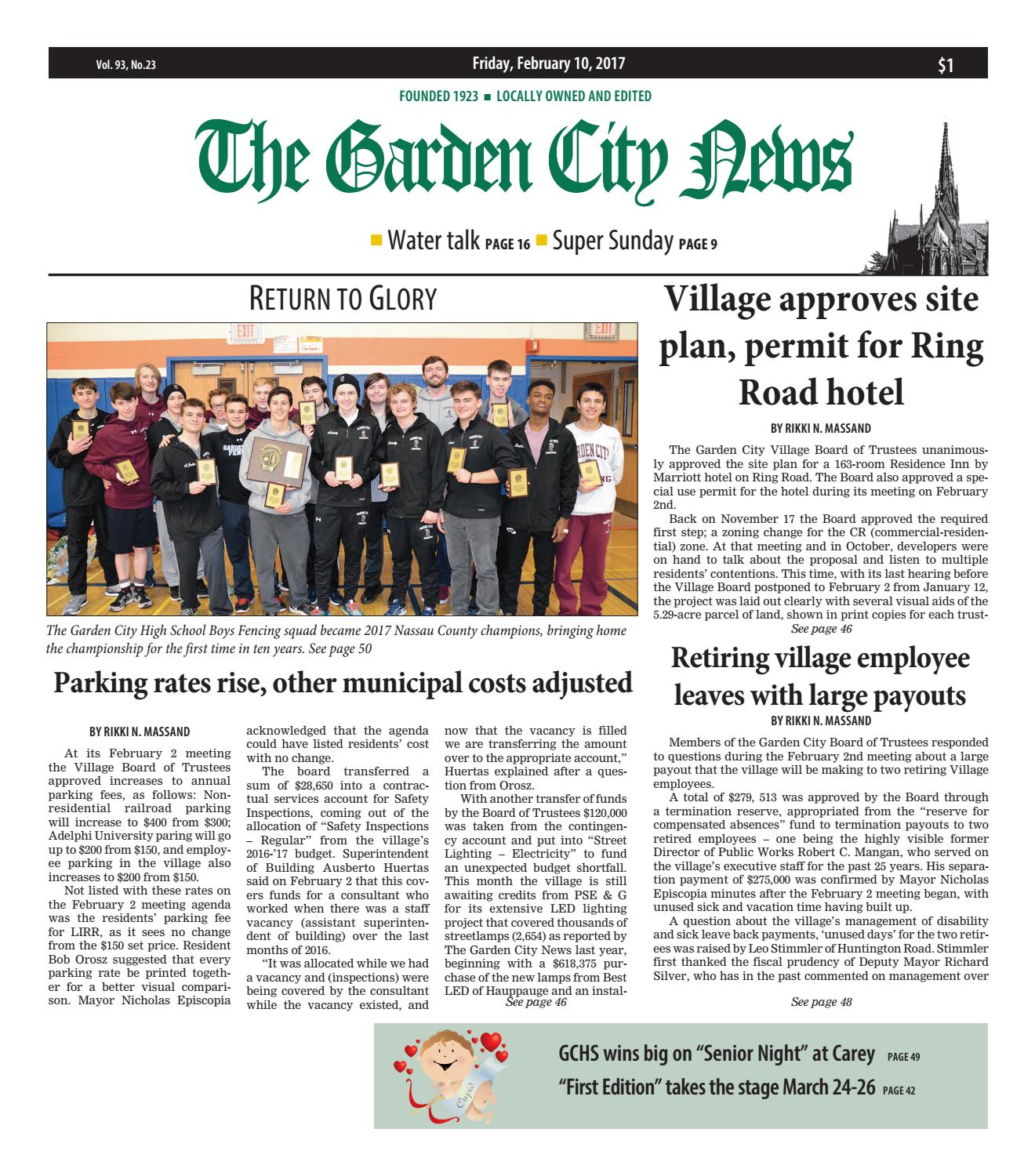 the garden city news by litmor publishing issuu - Fairchild Funeral Home Garden City